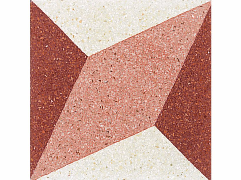 Marble grit wall/floor tiles ASSONOMETRIA by Mipa