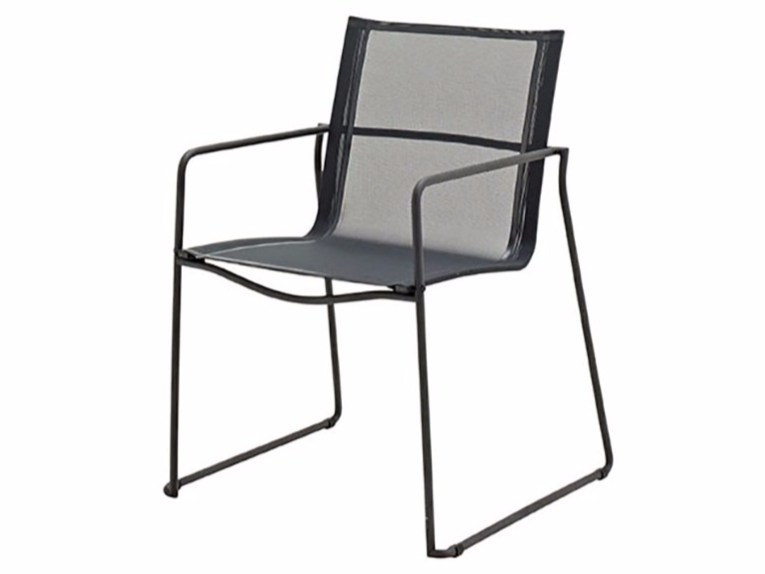 Garden chair with armrests ASTA | Chair with armrests by Gloster