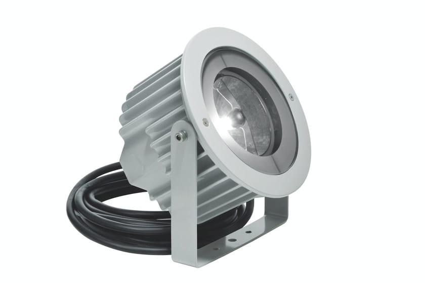Aluminium underwater lamp ASTER F.5025 by Francesconi & C.