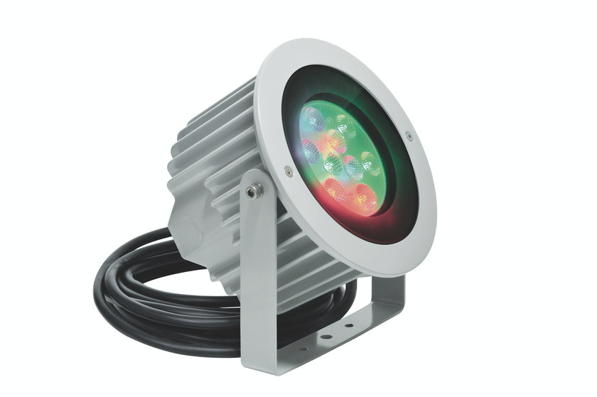 RGB LED underwater lamp ASTER F.5027 by Francesconi & C.