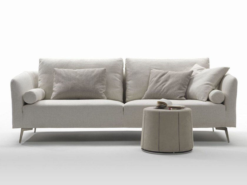 2 seater fabric sofa with removable cover ASTER | Sofa by Marac