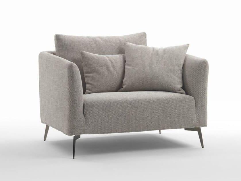 Fabric armchair ASTER | Armchair by Marac