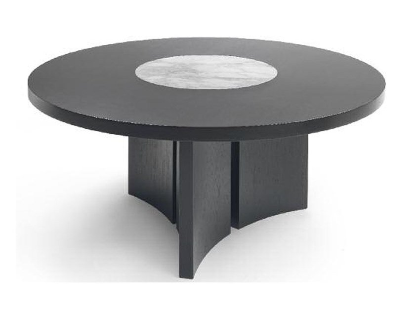 Round table with Lazy Susan ASTER | Table by Marac