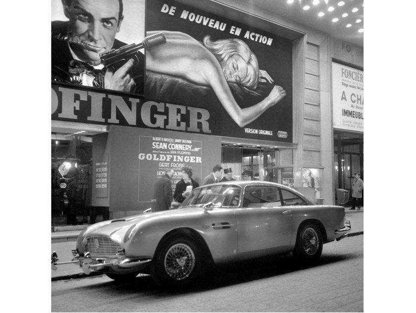 Stampa fotografica ASTON MARTIN DB5 DI JAMES BOND by Artphotolimited