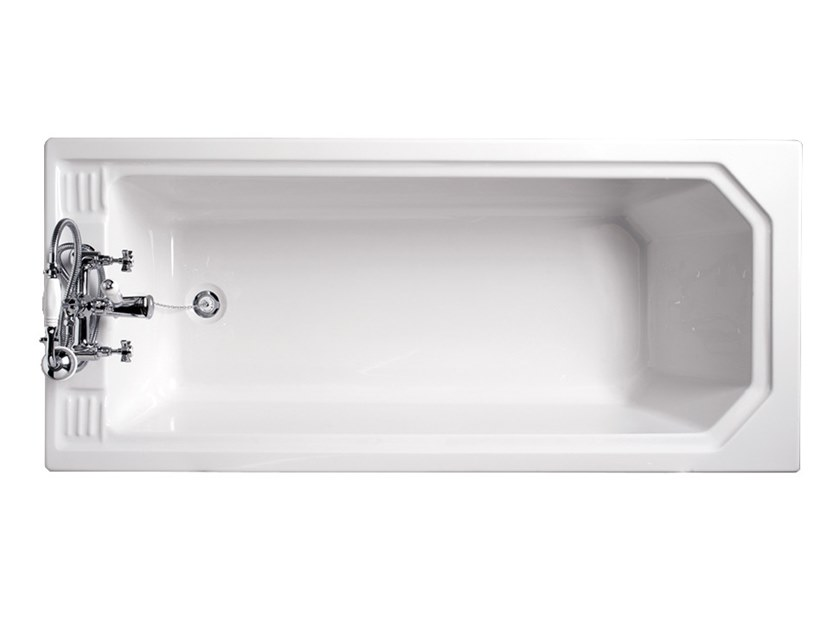 Rectangular fiberglass bathtub ASTORIA | Bathtub by Devon&Devon