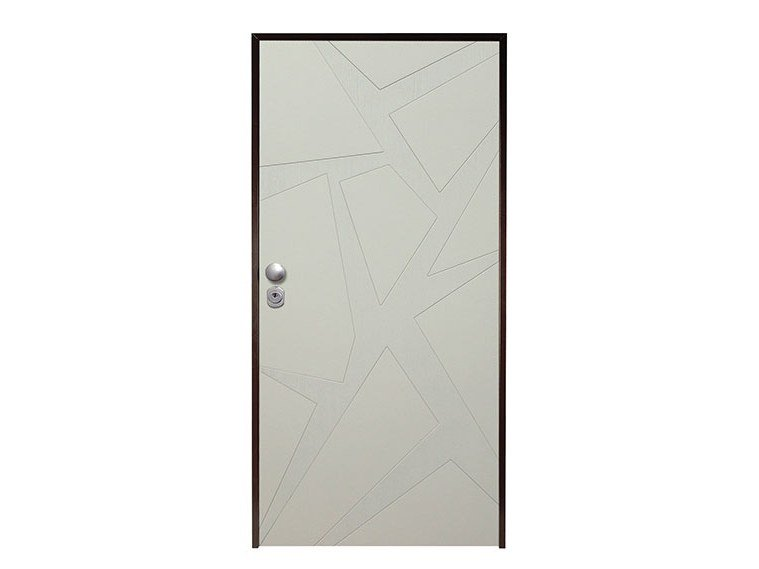 Lacquered safety door ASTRATTO by NUSCO