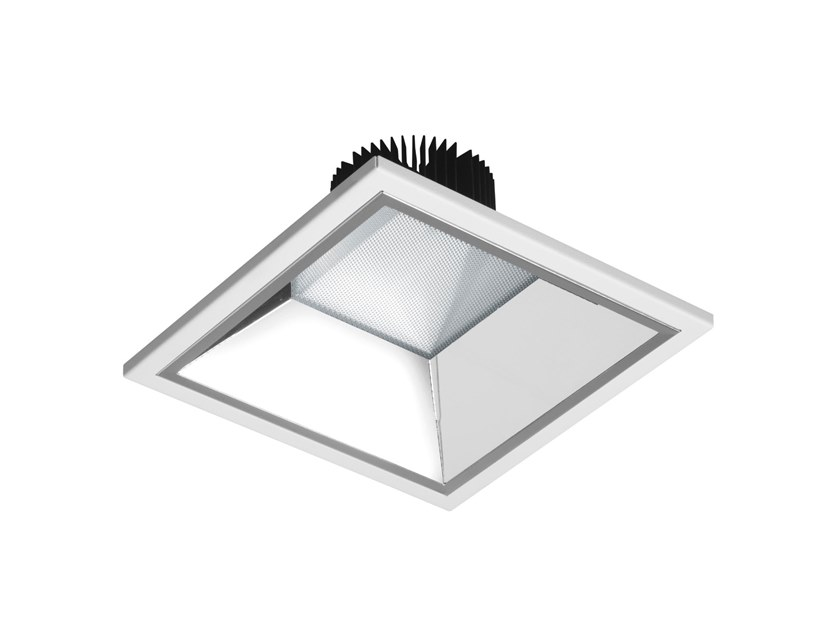 LED square recessed spotlight ASTRID | Square spotlight by GEWISS