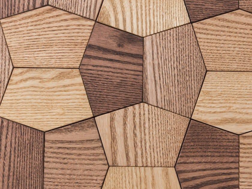 Modular wooden 3D Wall Cladding ATLANTA V3 by NEXT LEVEL DESIGN STUDIO