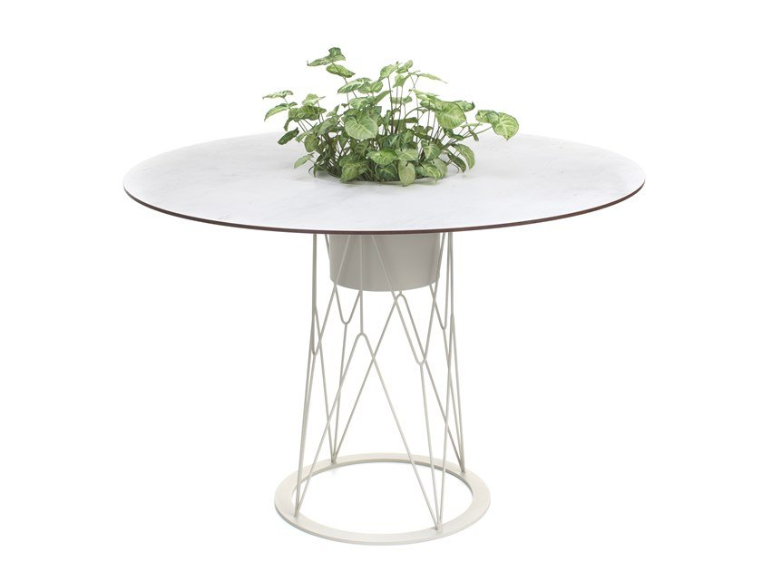Round garden table ATAMAN MESH | Round table by Garda Furniture