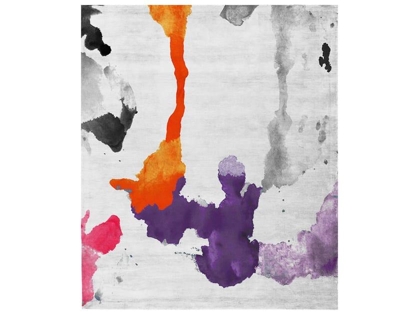 Handmade rectangular rug ATELIER BUENOS AIRES by HENZEL STUDIO