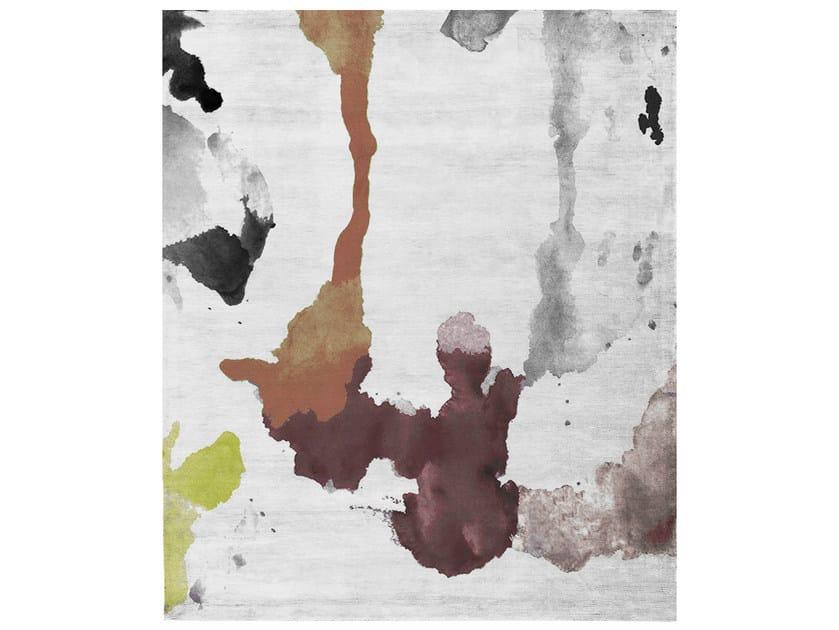 Handmade rectangular rug ATELIER BUENOS AIRES Z2 by HENZEL STUDIO