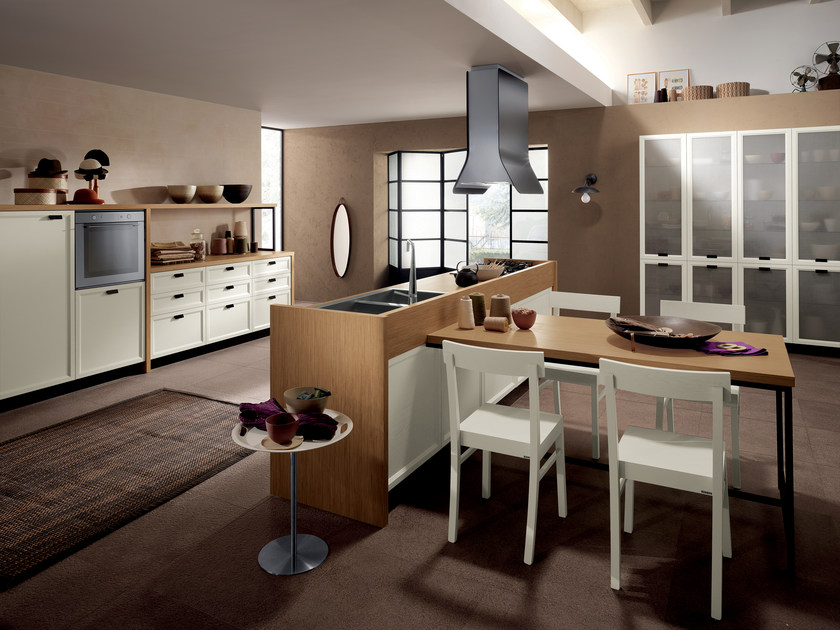 Fitted kitchen ATELIER by Scavolini