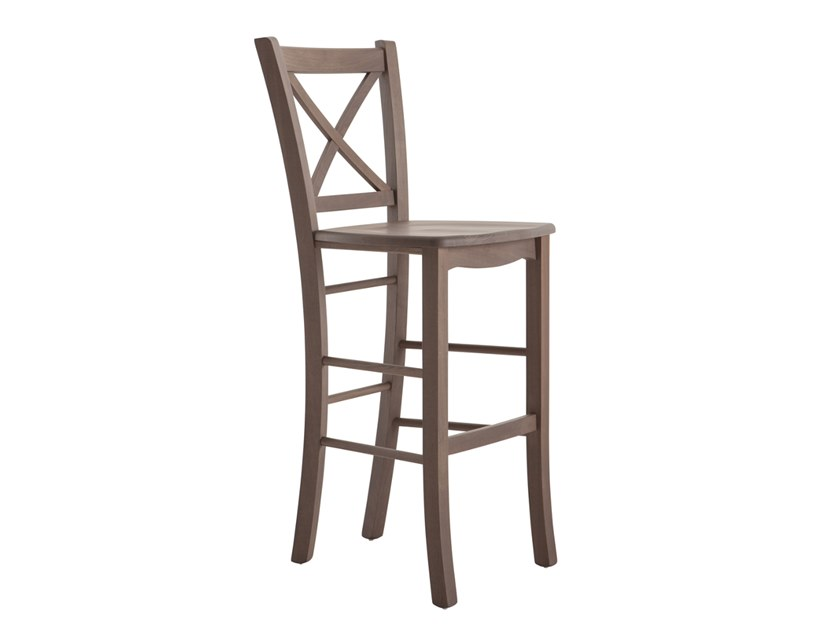 High beech stool ATENA 42QJ.m2 by Palma