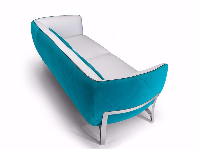 Leather sofa ATENA | Leather sofa by Borzalino