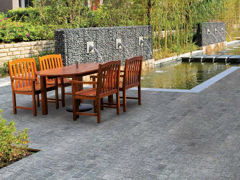 Granite outdoor floor tiles ATENE by RECORD - BAGATTINI