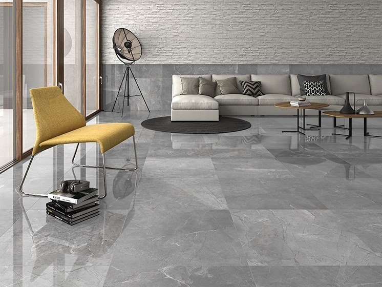 Porcelain wall/floor tiles with marble effect ATENEA by ITT Ceramic