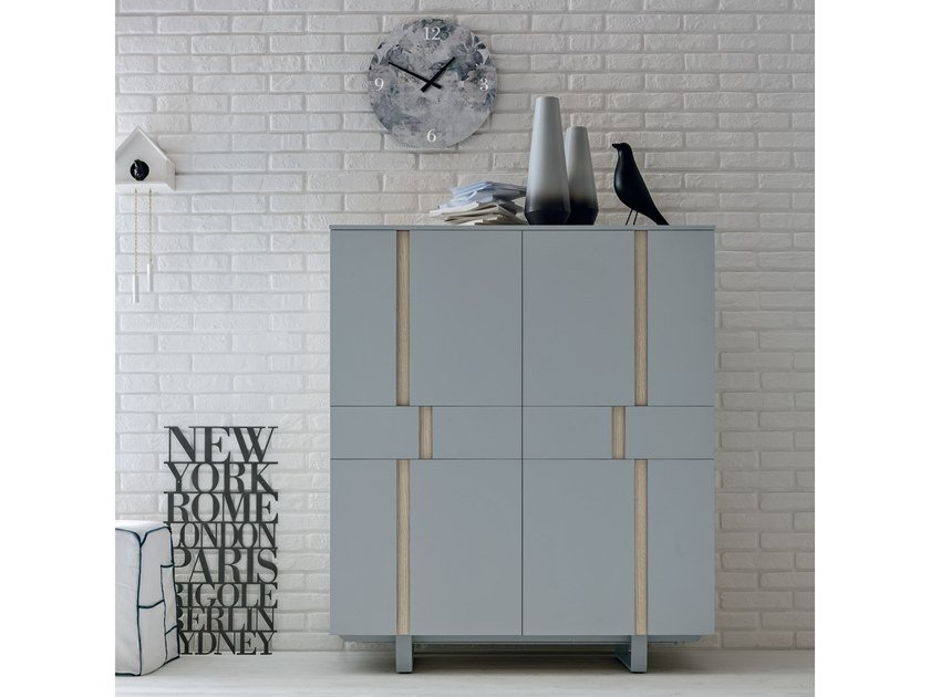 Lacquered highboard ATHENA | Highboard by Gruppo Tomasella