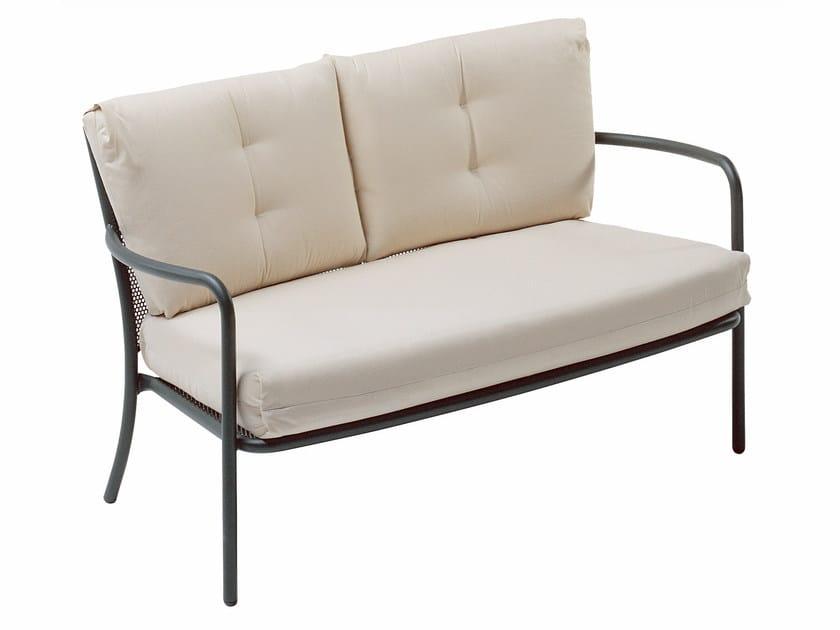 2 seater steel sofa ATHENA   2 seater sofa by emu