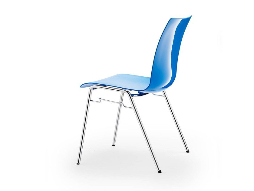 Stackable polypropylene chair ATLANTA 456 | Chair by rosconi