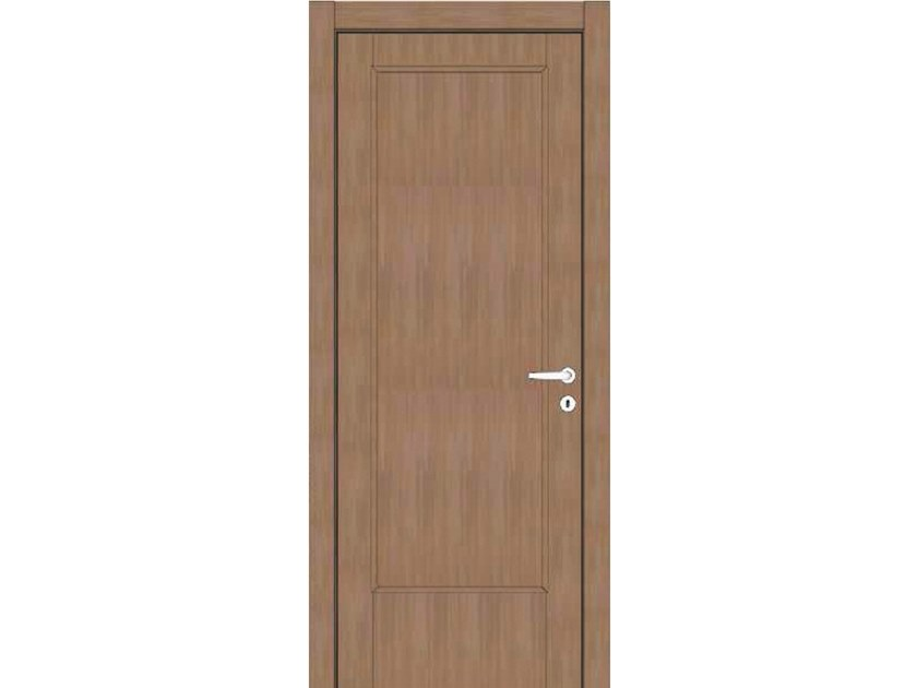 Hinged wooden door ATLANTE A41 ZAFFIRO by GD DORIGO