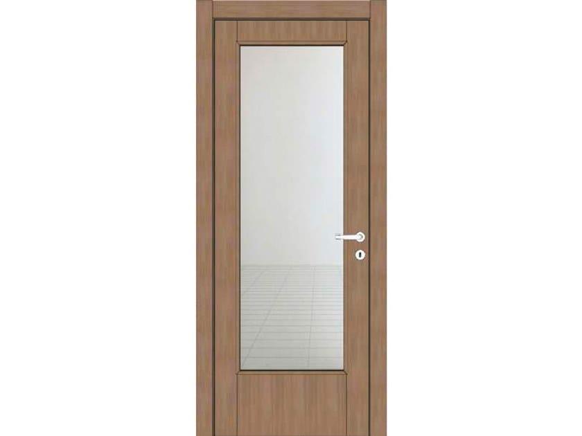 Hinged wood and glass door ATLANTE A41V1 ZAFFIRO by GD DORIGO