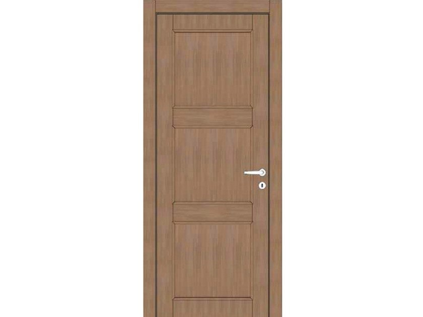 Hinged wooden door ATLANTE A79 ZAFFIRO by GD DORIGO