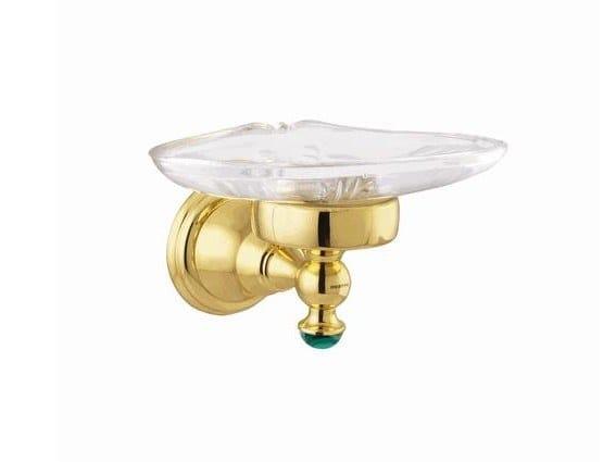 Wall-mounted soap dish ATLANTICA PRECIOUS | Soap dish by Bronces Mestre