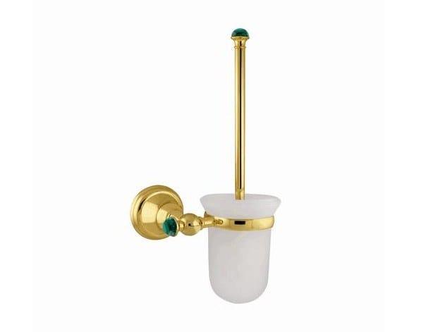 Wall-mounted toilet brush ATLANTICA PRECIOUS | Toilet brush by Bronces Mestre
