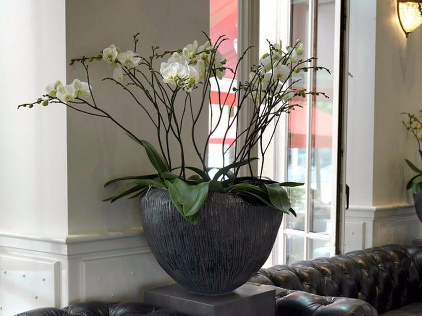 Terracotta vase ATLANTIS by Domani