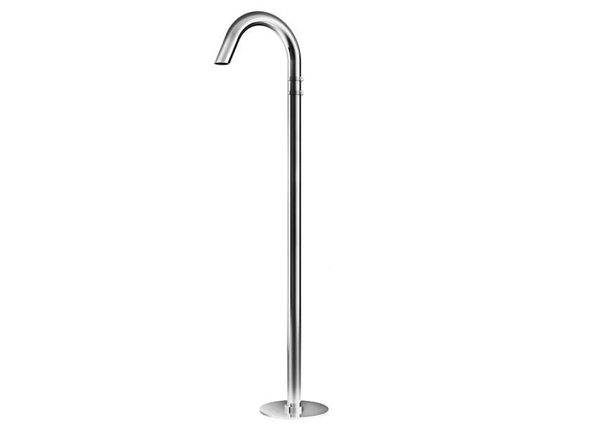 Miscelatore per lavabo da terra idroprogressivo in acciaio inox ATLAS | Miscelatore per lavabo da terra by Ama Luxury Shower