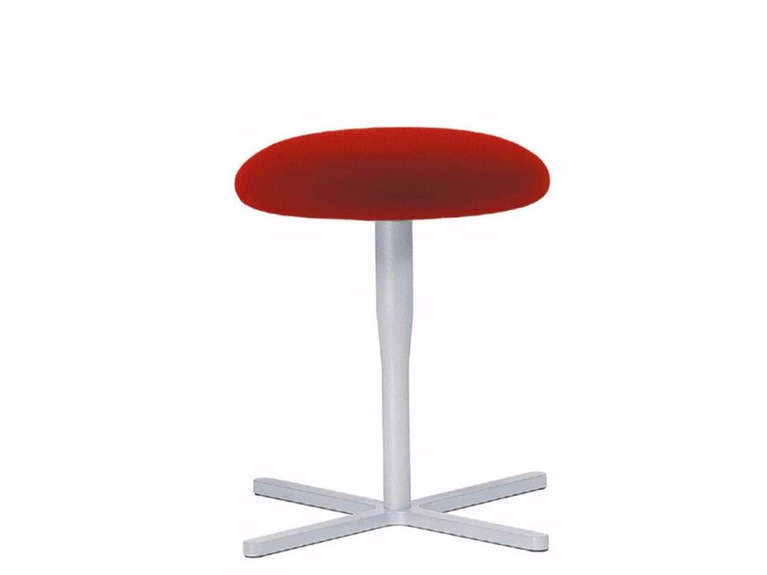 Swivel fabric stool ATLAS STOOL - 751 by Alias