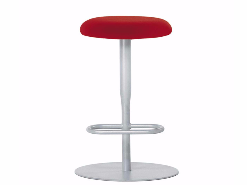 Swivel stool with footrest ATLAS STOOL - 756 by Alias