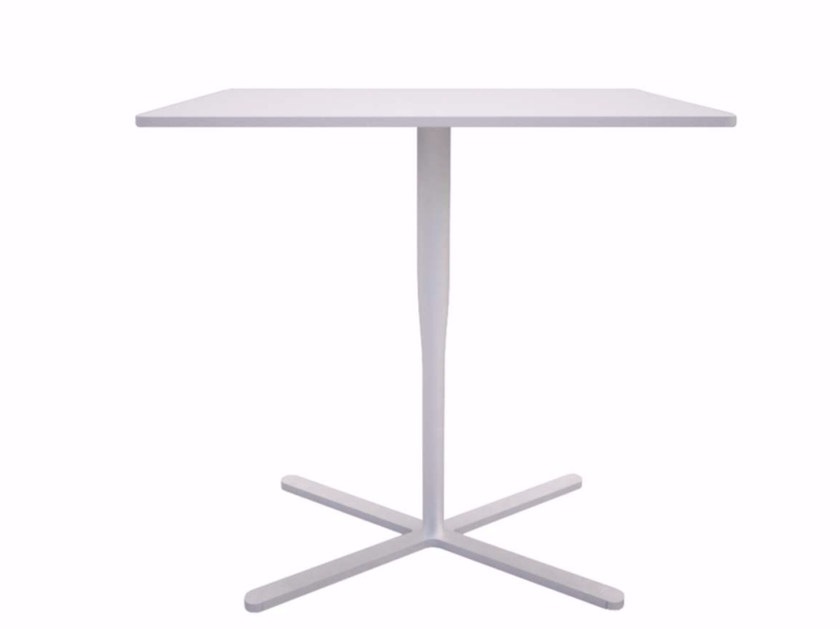 Rectangular table with 4-star base ATLAS TABLE - F by Alias