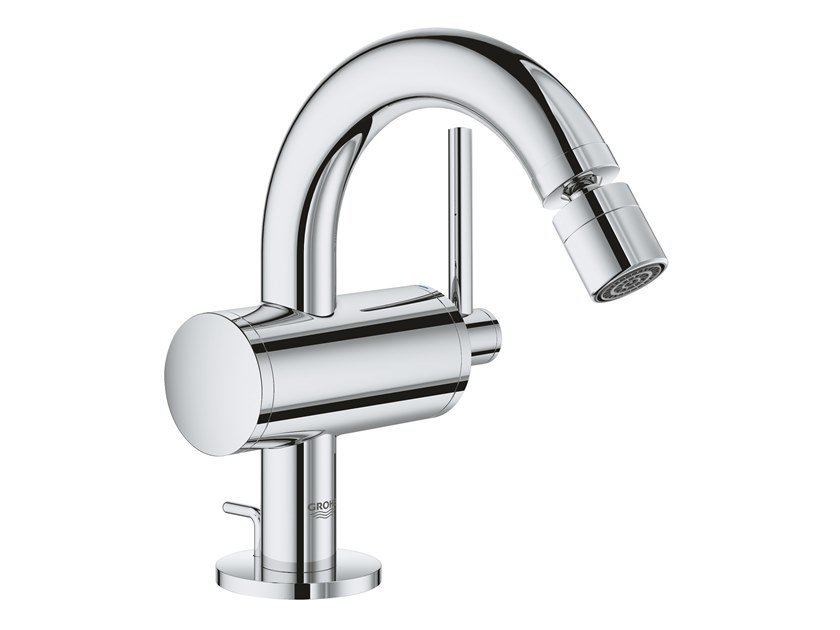 Grohe atrio wall mounted hole basin tap a u ac