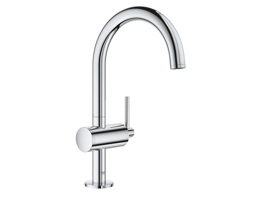 Countertop washbasin mixer with adjustable spout ATRIO NEW - SIZE L | Countertop washbasin mixer by Grohe