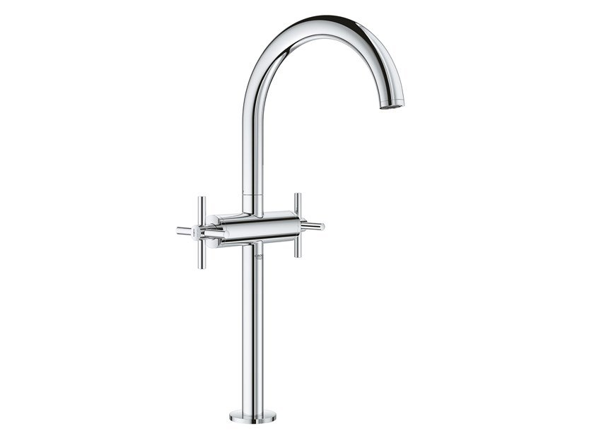 Countertop 1 hole washbasin tap with individual rosettes ATRIO NEW - SIZE XL | Washbasin tap by Grohe