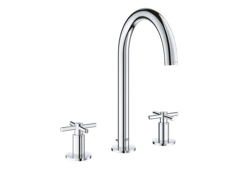 Rubinetto per lavabo a 3 fori con rosette separate ATRIO NEW - SIZE M | Rubinetto per lavabo a 3 fori by Grohe