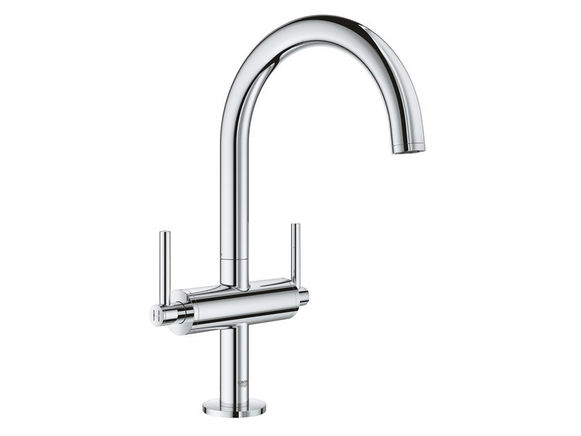 Countertop washbasin tap with individual rosettes ATRIO NEW - SIZE L | Washbasin tap by Grohe