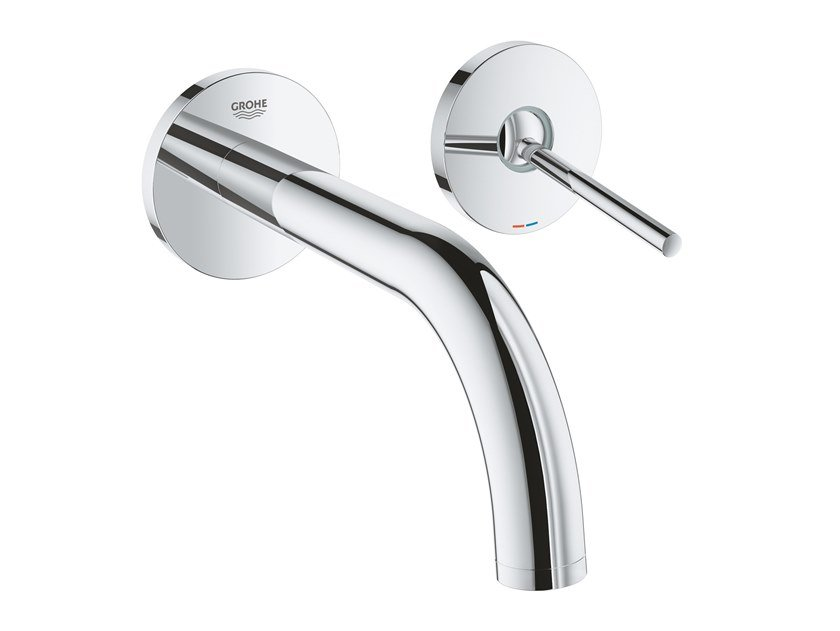 ATRIO NEW - SIZE M | Mitigeur lavabo mural Collection Atrio New By Grohe