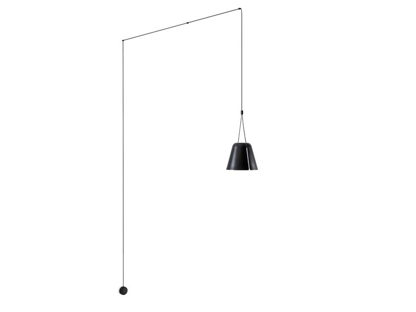 Aluminium pendant lamp ATTIC 05-7389 by LEDS C4