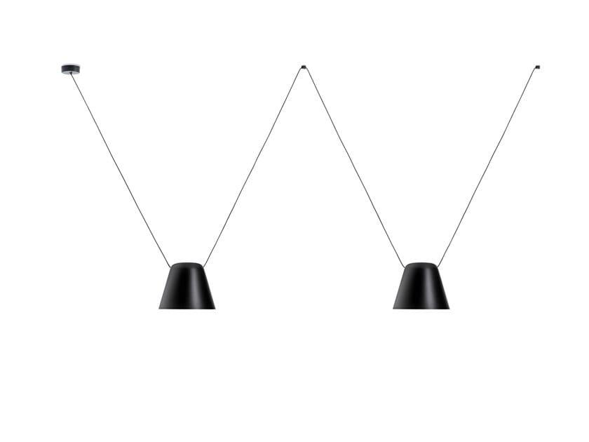 Aluminium pendant lamp ATTIC 00-7397 by LEDS C4