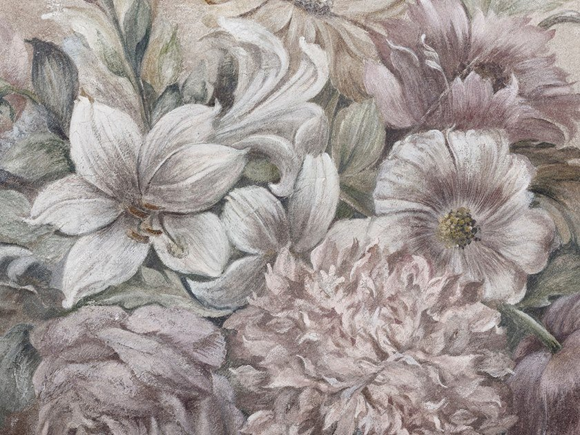 Ecological washable PVC free wallpaper AUBUSSON by Wallpepper