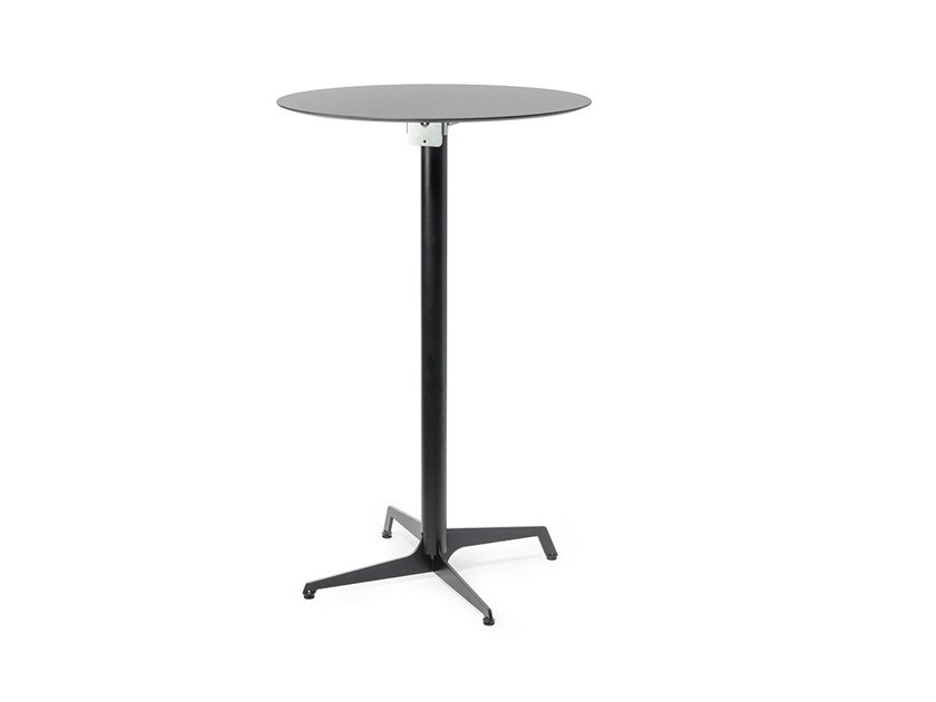 Drop-leaf HPL high table AUDREY | High table by Lyxo Design