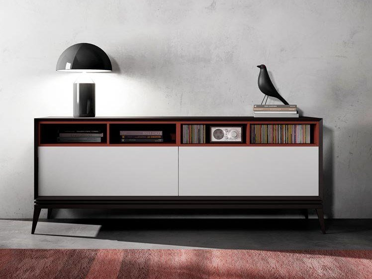 Lacquered wooden sideboard AUDREY | Sideboard by Kico