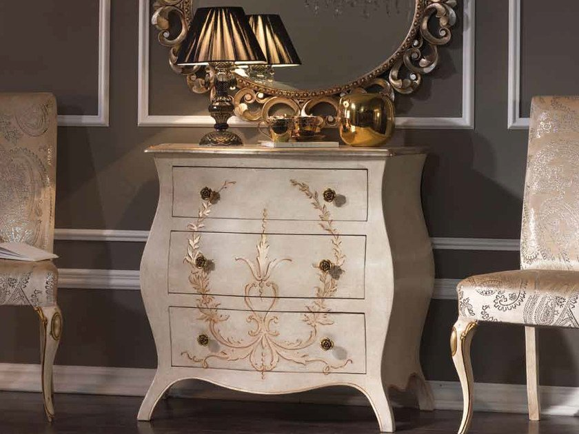 Solid wood chest of drawers AUGUSTO   Chest of drawers by Arvestyle