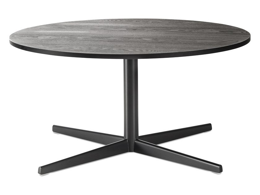 Round coffee table with 4-star base AUKI | Coffee table with 4-star base by Lapalma