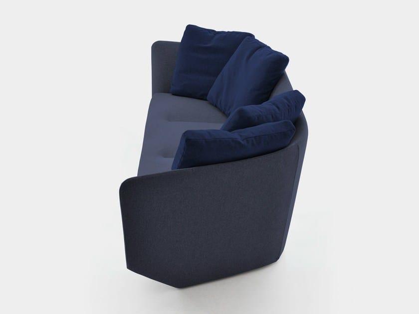 Beau Fabric Sofa AURA 220 By Bensen