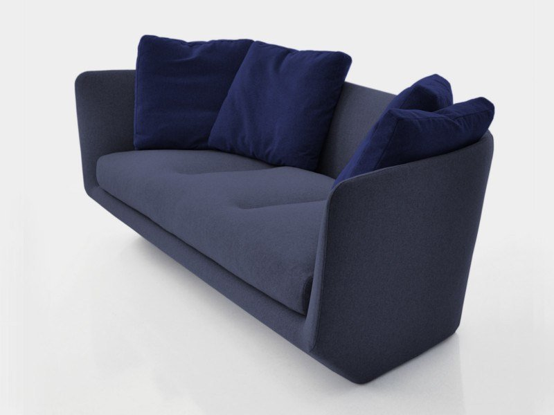 Fabric sofa AURA 280 by BENSEN