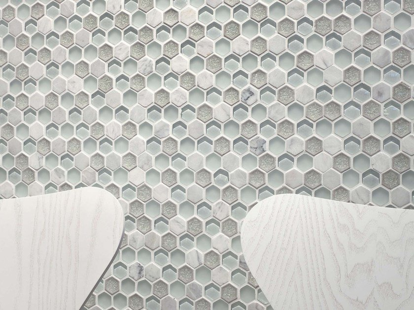 Marble and glass mosaic AURA by L'ANTIC COLONIAL