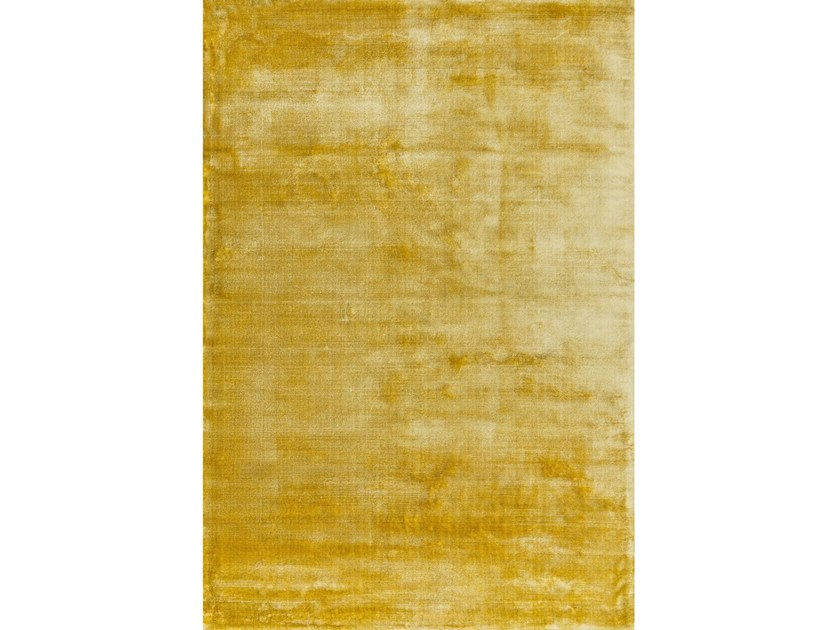Hand-loomed rugs AURA YELLOW by Sirecom Tappeti